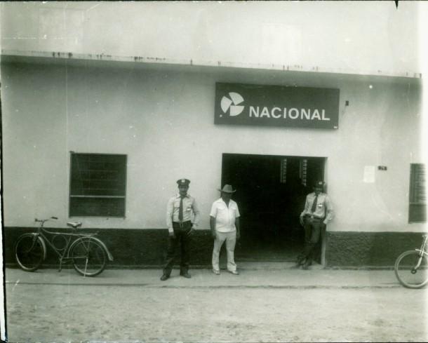 Banco Nacional S.A, em Gonçalves Dias, MA. Localizado na Rua 1º de Maio.