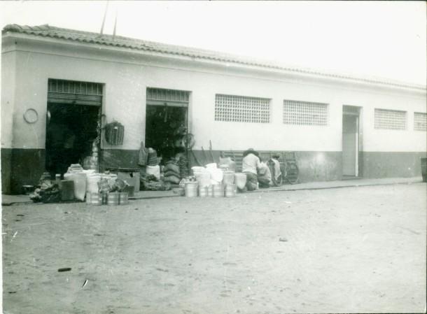 Mercado municipal Gonçalves Dias, MA. Antes da reforma feita em fins da década de 1980.